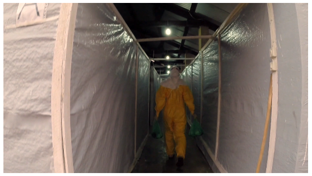 Inside Ebola isolation ward in Guinea