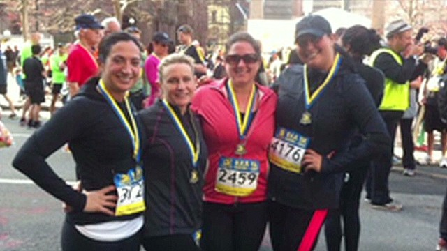 Boston bombing survivor runs for friend