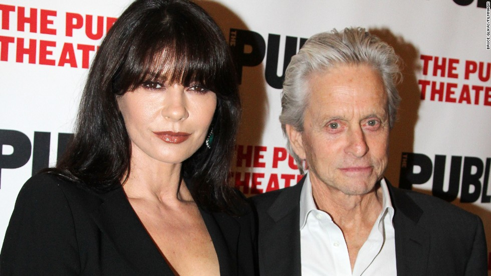 "In April 2014, a reconciled Catherine Zeta-Jones and Michael Douglas went to opening night of the ""The Library,"" a play at the Public Theater in New York. It was the first time they'd been seen in public together since they announced their ""break"" in August 2013. In 2015, they celebrated their 15th anniversary."