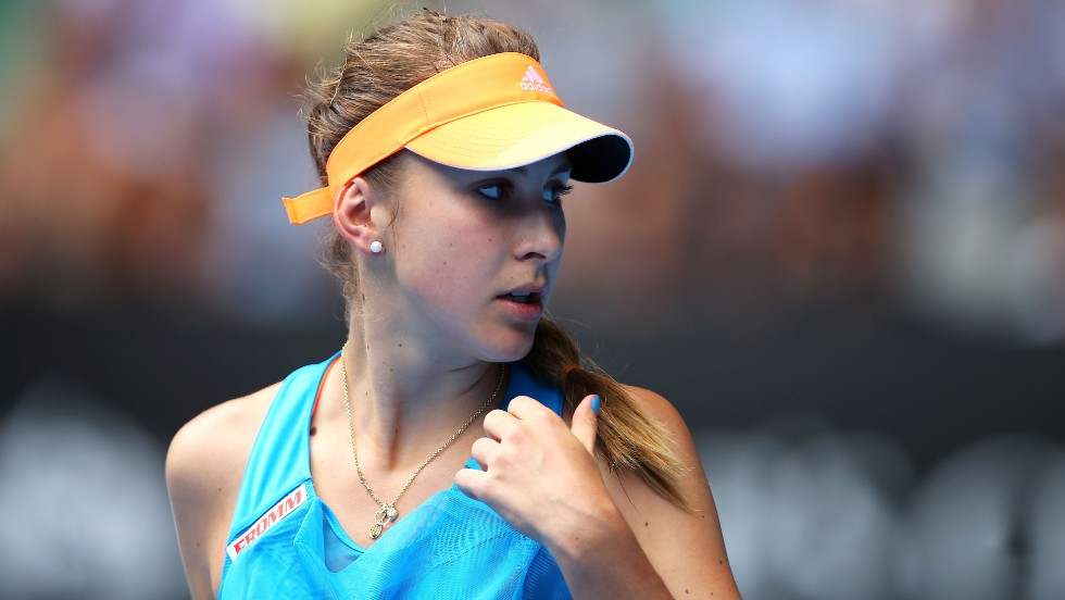 Bencic ended 2013 as the No. 1 junior and was crowned the female 2013 ITF Junior World Champion.