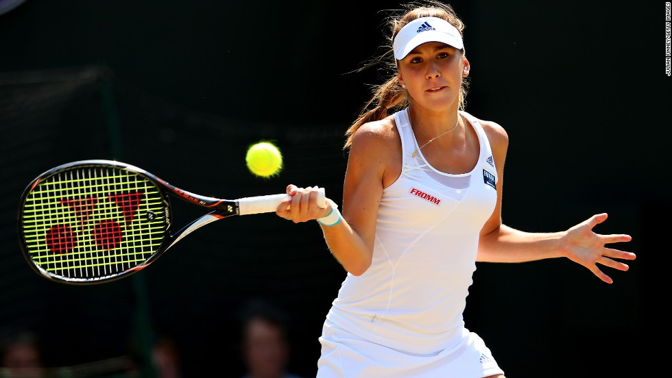 Belinda Bencic is a 17-year-old Swiss tennis prodigy who is set to become one of the stars of 2014.