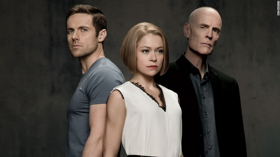 Introduced at the end of Season 1, powerful corporate pro-clone Rachel Duncan has been raised with complete awareness of who she is. She works with Dr. Aldous Leekie (Matt Frewer, right), who holds secrets about the clones. Paul Dierden (Dylan Bruce) is being blackmailed by Leekie into monitoring Sarah, but he's also falling for her.