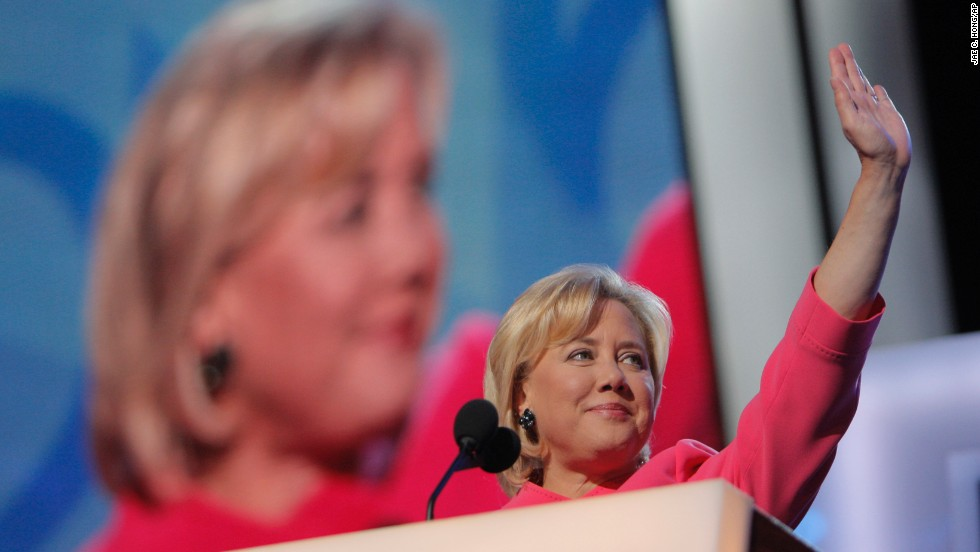 Sen. Mary Landrieu, D-Louisiana, is facing one of the biggest challenges of her political career. She is running for a third term in an unfavorable year for Democrats and in a red state that has voted for Republican presidential nominees in the past two cycles. Here she waves before speaking at the Democratic National Convention in Denver on  August 26, 2008. Click through the gallery for scenes from Landrieu's political life.