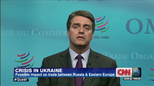 Roberto Azevedo on the crisis in Ukraine