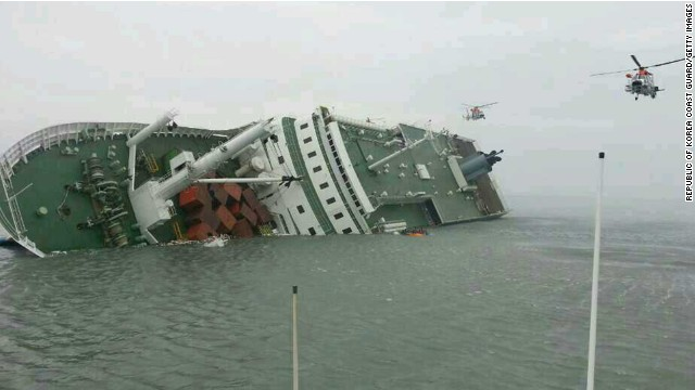South Korean ferry rescue growing desperate