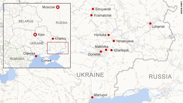 Unrest in eastern Ukraine