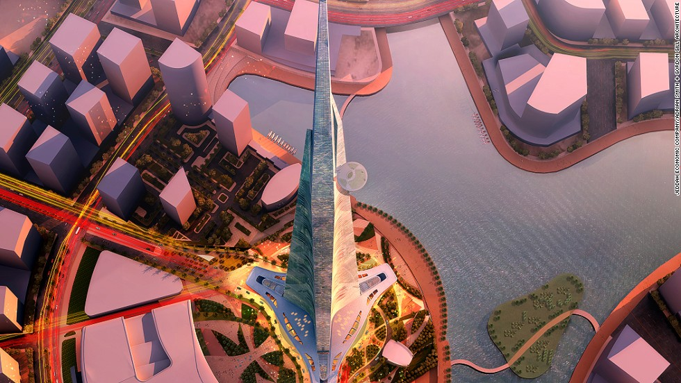 "Another threat to the Burj Khalifa's tallest building title is the Jeddah Tower in Saudi Arabia. The tower is currently under construction and due to top out at 1,000 meters at a cost of <a href=""http://edition.cnn.com/2015/11/30/world/meast/saudi-arabia-worlds-tallest-building-jeddah-tower/"">$1.23 billion</a>.<br /><strong><br />Height: </strong>3,280ft <br /><strong>Architect: </strong>Adrian Smith + Gordon Gill Architecture"