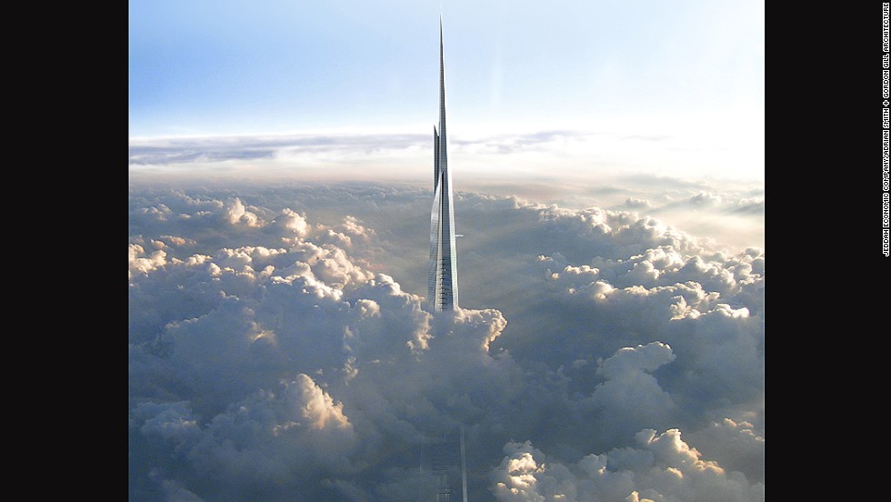 Saudi Arabia's Kingdom Tower is also planned to reach one kilometer into the sky, but is not due for completion until 2019.
