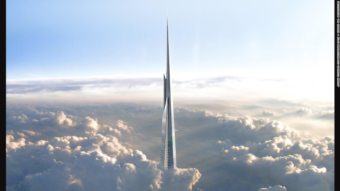 While there are no plans to fund or construct the Sky Mile Tower yet, other buildings in the world, have been breaking height records. In December 2015, plans were revealed for the Jeddah Tower in Saudi Arabia. It is currently under construction and is working towards the title of world's tallest building -- at 1-kilometer high.