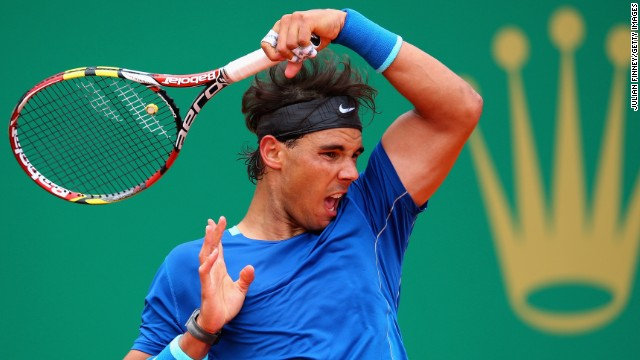 World No. 1 Rafael Nadal is bidding for a ninth triumph at the Monte Carlo Masters.