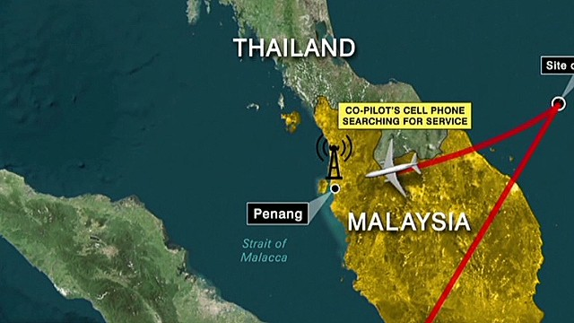 New questions about Flight 370 cell signals