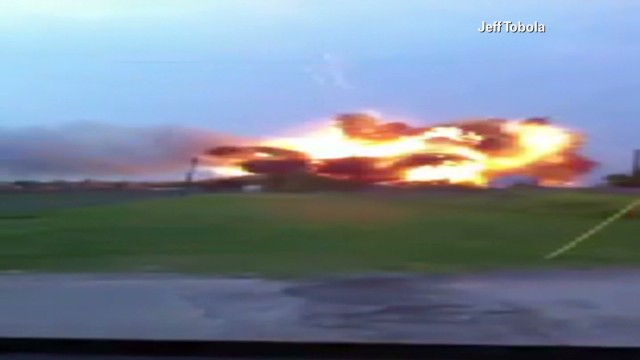 New footage shows 2013 plant explosion