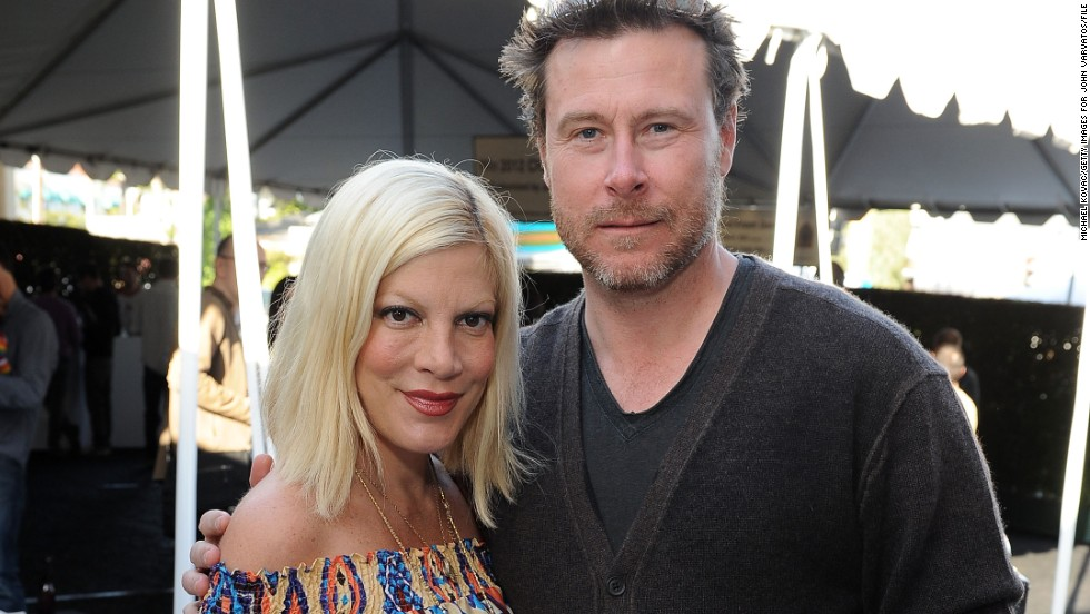 "Tori Spelling and Dean McDermott built a reality series, <a href=""http://www.mylifetime.com/shows/true-tori"" target=""_blank"">""True Tori,""</a> around their marital problems, but things appear to be going better. This past summer, <a href=""http://www.people.com/article/tori-spelling-dean-mcdermott-inside-out-premiere"" target=""_blank"">a friend told People</a> the couple was ""in a good place."""