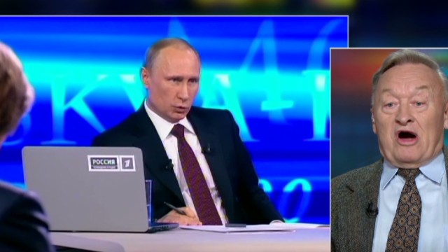 Ex KGB: Putin knows how to handle things