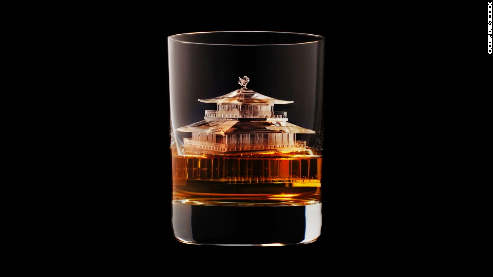 "These stunningly detailed ice sculptures were made for <a href=""http://edition.cnn.com/2014/03/25/travel/japan-whiskey-tour/"">Japanese whiskey</a> firm Suntory by TBWA\Hakuhodo, a Tokyo-based creative agency."