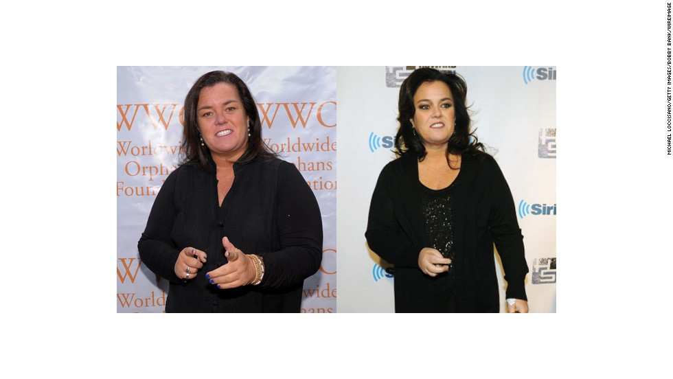 "Rosie O'Donnell<a href=""https://twitter.com/Rosie"" target=""_blank""> tweeted in April </a>that she has lost almost 50 pounds since undergoing weight-loss surgery in 2013."