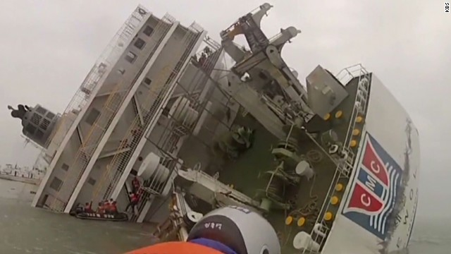 Video emerges of last moments on ferry
