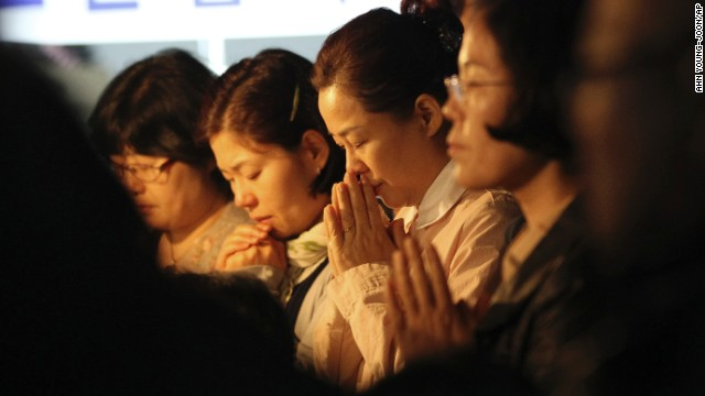 Ferry disaster's toll on families