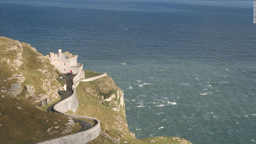 This old lighthouse has a 180-degree view over the cliffs of north Wales and the Irish Sea.