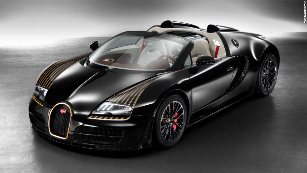 "The Bugatti Veyron 16.4 Grand Sport Vitesse ""Black Bess"" revives a legendary pre-war model that was one of the fastest on the road during its time. It was unveiled at the Beijing Auto Show."