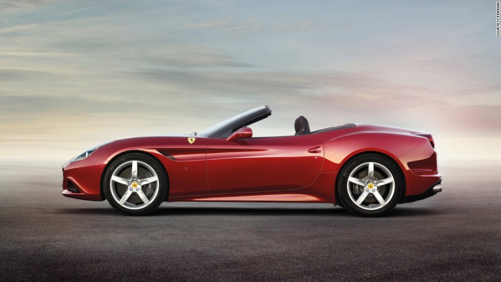 "Ferrari's California T made its Chinese debut at the Beijing Auto Show with the revolutionary V8 turbo engine which promises ""the performance, torque and sound"" synonymous with Ferrari, but with fuel efficiency to boot."