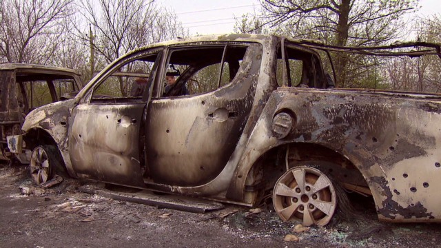 Fatal shooting raises tension in Ukraine