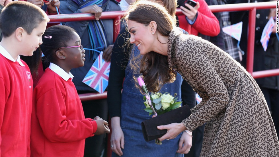 """An absolute frenzy"" is how a spokesperson for Orla Kiely described the label's website after Kate was photographed wearing it's bird-print jacquard dress at Rose Hill Primary school, Oxford in February 2012."