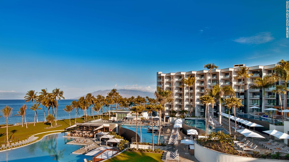Located next to the sands of Mokapu, the 297-room Andaz Maui is named as one of the best new beach hotels.