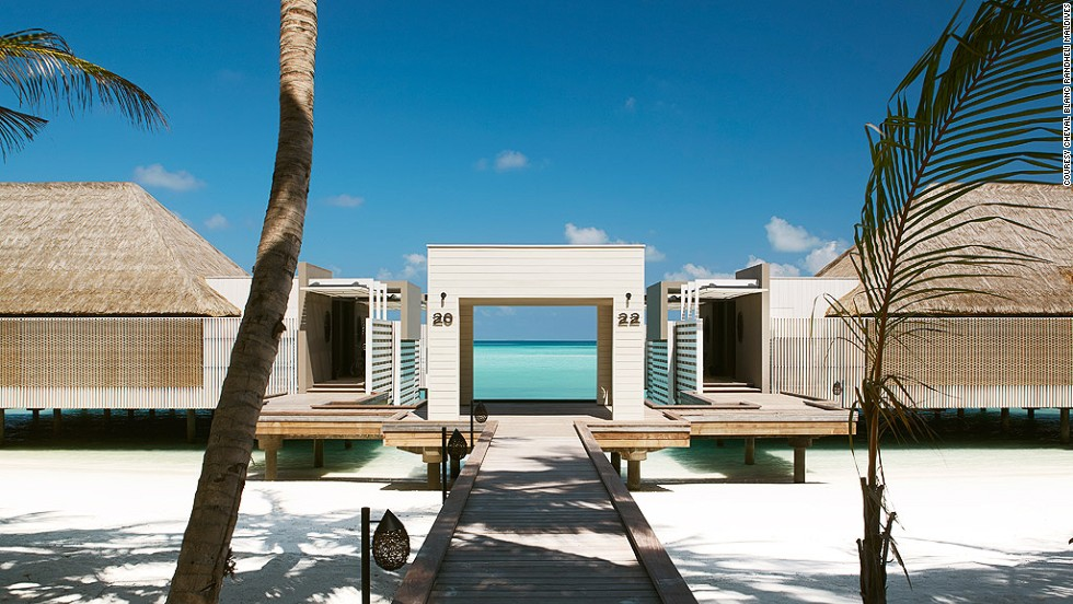 The latest hotel from luxury brand LVMH makes it onto the hot list by offering guests not only the crystal waters of the Indian Ocean, but also their own infinity pools. Pruned fingertips guaranteed.