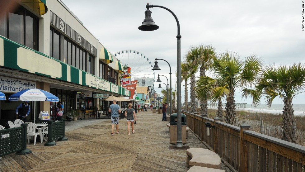 Ready for warm weather and boardwalk strolls? Myrtle Beach, South Carolina has beaches, micro-breweries and southern charm to offer.