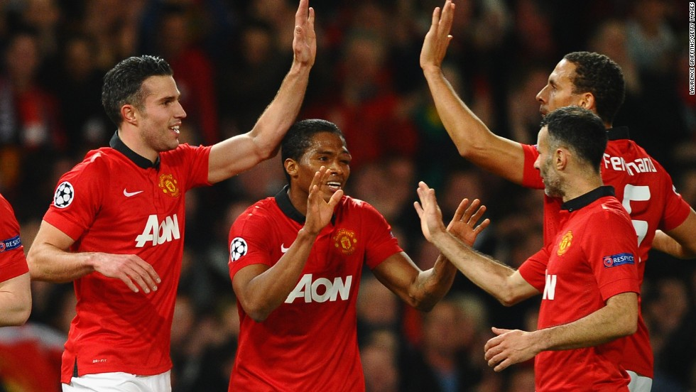 Perhaps the high point of Moyes' time at the club was the Champions League last-16 defeat of Olympiakos as United turned around a 2-0 first-leg deficit to progress as 3-2 winners in March. The European adventure came to an end at the quarterfinal stage as holders Bayern Munich ultimately proved too strong.