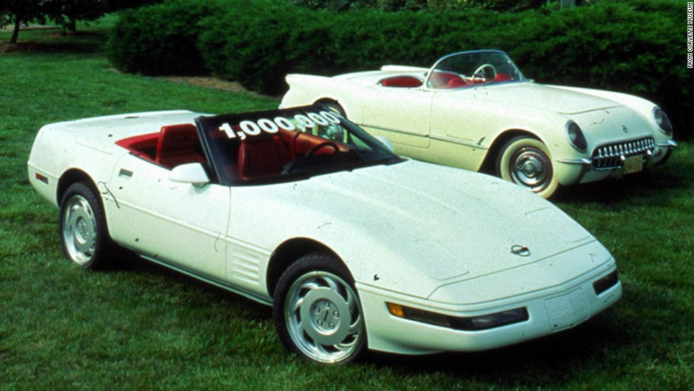 "The second car that is slated for restoration is the 1 millionth Corvetteever produced. <a href=""http://www.gm.com/article.content_pages_news_us_en_fastlane_2014_mar_0304-corvette.html"" target=""_blank"">GM says</a> it was built around 2 p.m. on July 2, 1992, at Corvette's Bowling Green Assembly Plant. The 1 millionth Corvette was a white convertible with red interior, as was the first-built Corvette in 1953 -- like the car on the right."