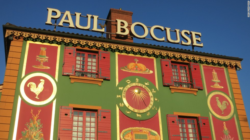 L'auberge du Pont de Collonges-Paul Bocuse, just outside Lyon.