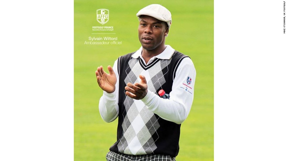 Former France international Sylvain Wiltord is an ambassador for the Association Francaise de FootGolf.