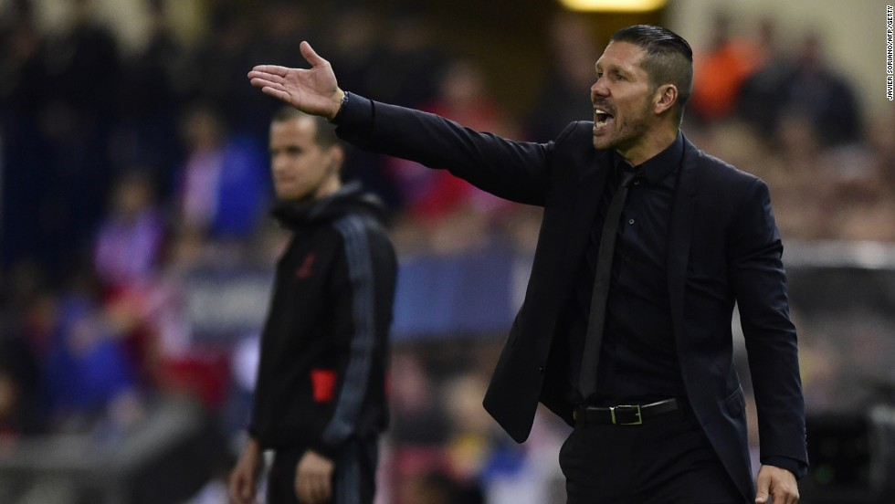 Atletico Madrid manager Diego Simeone shared the frustration of his side as they struggled to break down an obdurate Chelsea defense.