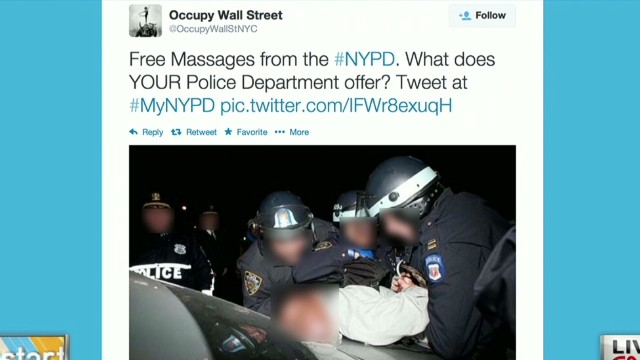 NYPD Twitter campaign backfires