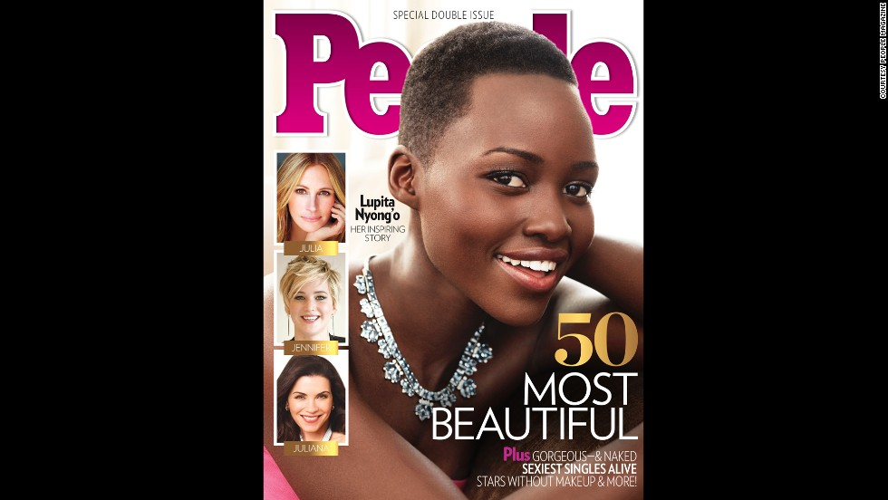 """Nyong'o won a best supporting actress Oscar for her performance in """"12 Years a Slave,"""" her first major role. In April 2014, she <a href=""""http://www.people.com/people/package/article/0,,20360857_20809287,00.html"""" target=""""_blank"""">was named People magazine's most beautiful person of 2014. </a>"""