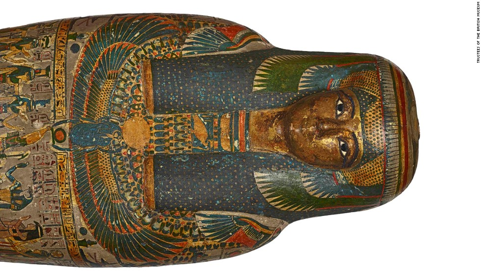 Egyptologists also scanned the remains of a priestess named Tayesmutengebtiu, or Tamut for short.
