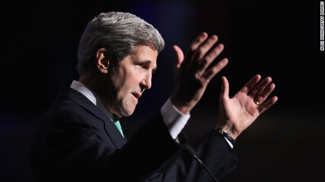 Kerry drops 'apartheid' on secret tape