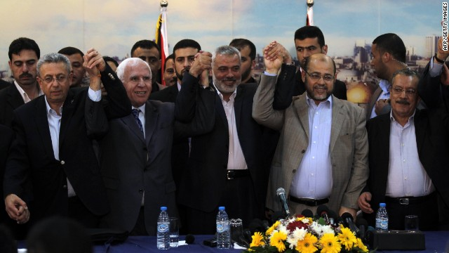 Palestinian unity: 'Contribution to peace'