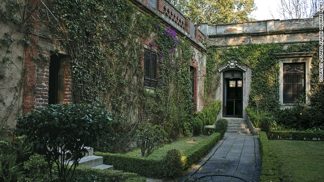 Trotsky's former home opened as a museum on the 50th anniversary of the assassination.