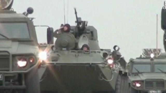 U.S. troops touch down in Eastern Europe