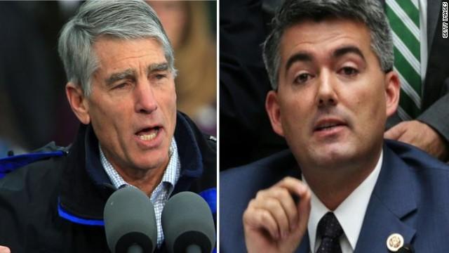 Udall, Gardner trade jabs at debate