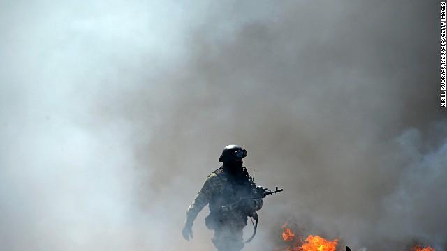 Ukraine erupts into fresh violence