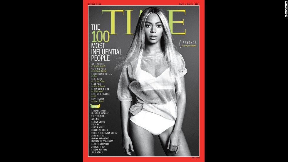 "Time magazine has praised Beyonce as an industry tastemaker. In April 2014, <a href=""http://time.com/collection/2014-time-100/"" target=""_blank"">the magazine called Bey</a> one of the 100 most influential people in the world."