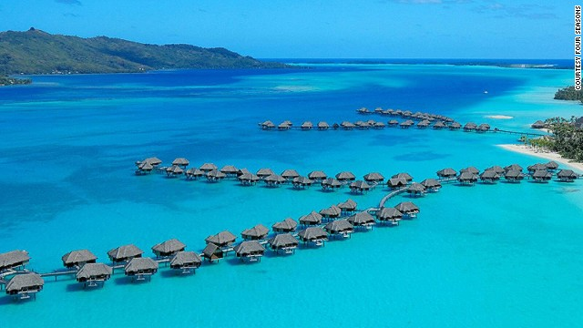 Bora Bora, one of the stops on Four Seasons' upcoming around-the-world trips.
