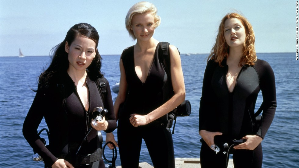 "With a theme song from Destiny's Child and two kick-ass co-stars -- Drew Barrymore and Lucy Liu -- Diaz's ""Charlie's Angels"" started the franchise off strong, earning $264 million worldwide."
