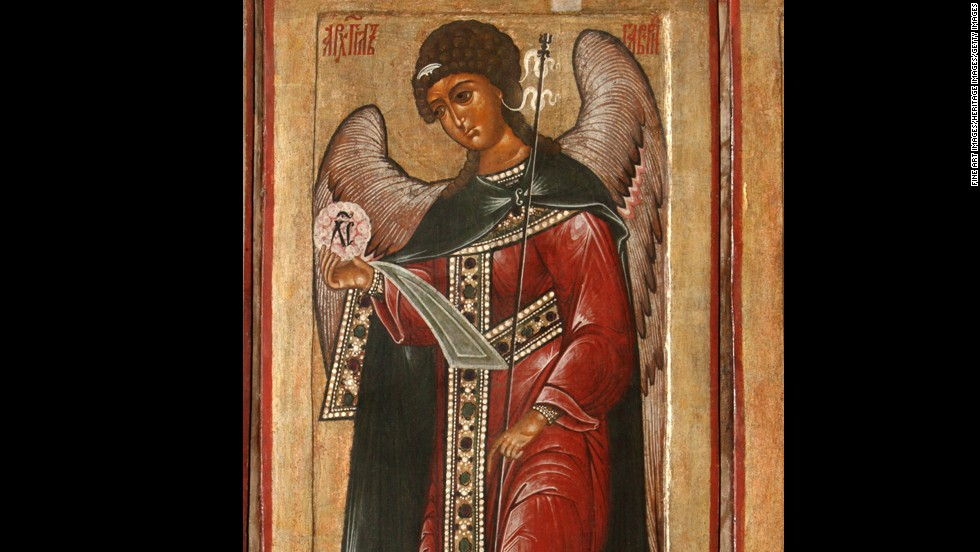 St. Gabriel the archangel is the patron saint of broadcasters. If you needed to announce big news in the Bible, from Daniel's prophecies to the conception of Jesus, Gabriel was your man.