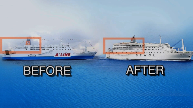 Ferry's cargo, renovation being probed