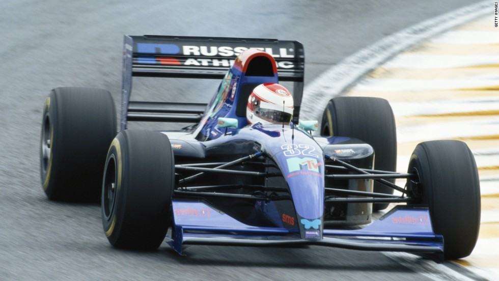 Ratzenberger had been battling for years to get into F1 but finally got his break at the Brazilian Grand Prix in 1994.